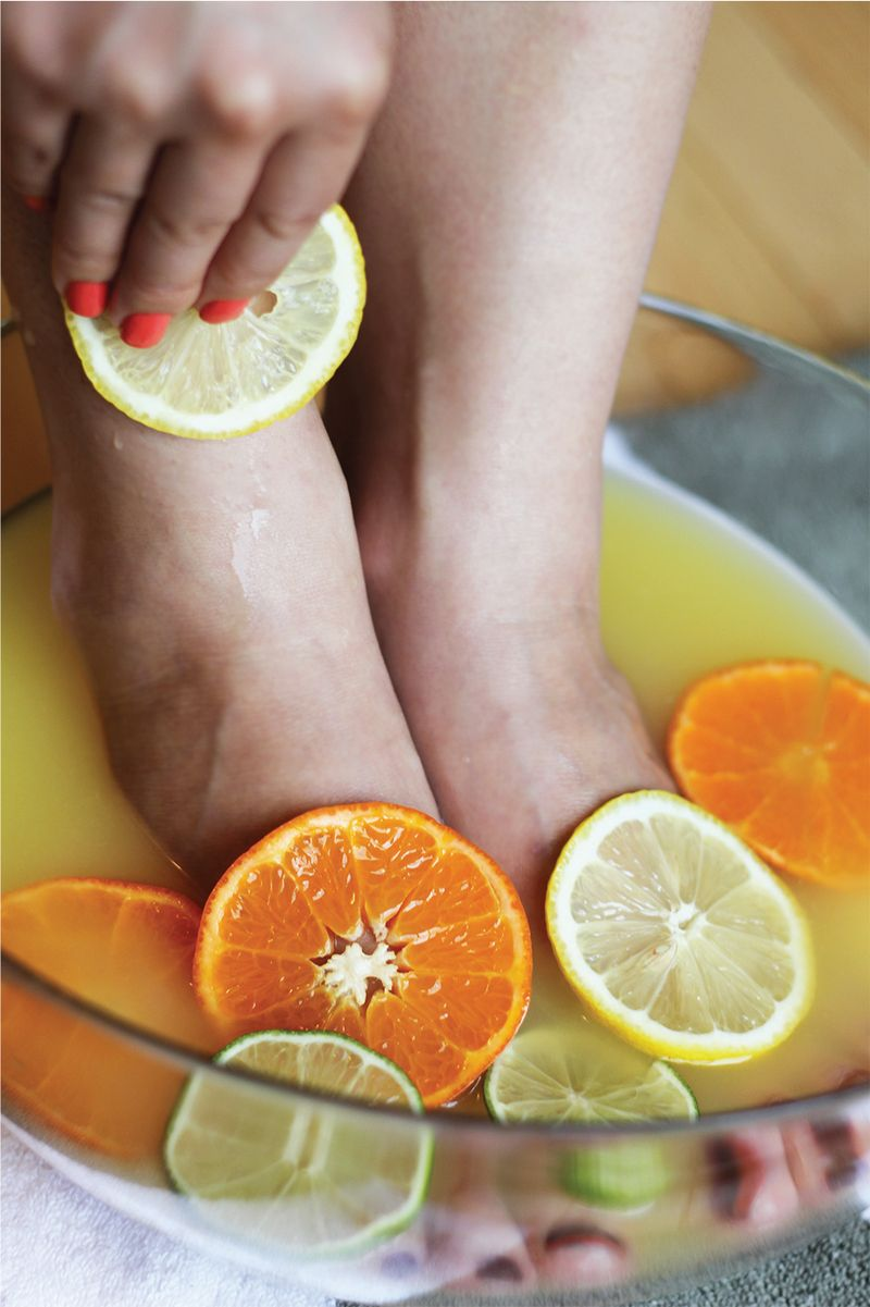 Citrus-Foot-Soak-&-Olive-Oil-Wrap-2
