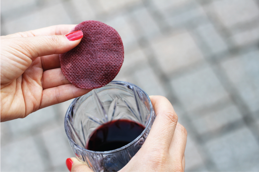 red wine beauty mask