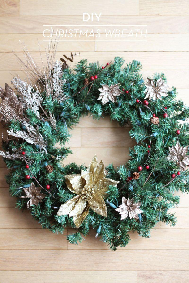 DIY Christmas Wreath 1-01