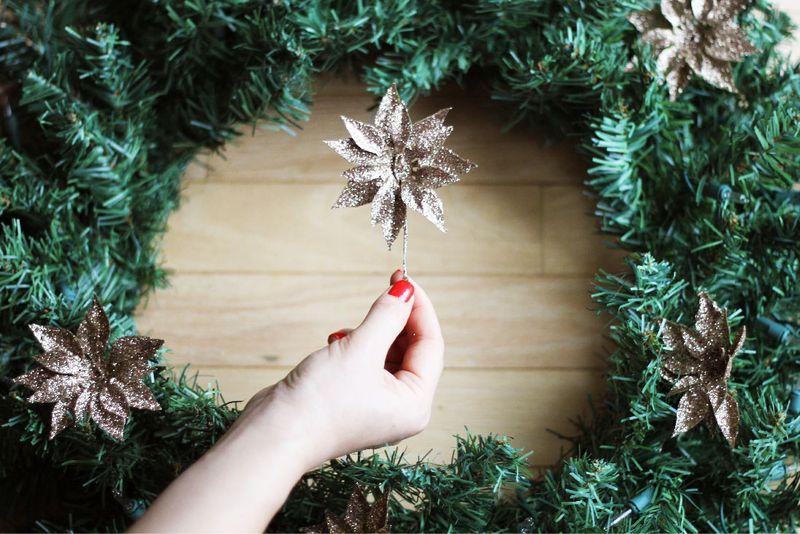 DIY Christmas Wreath 4-01