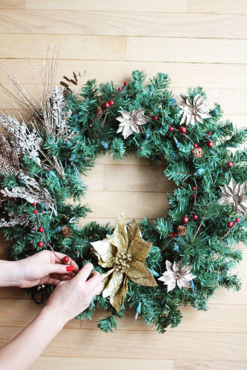 DIY Christmas Wreath 6-01