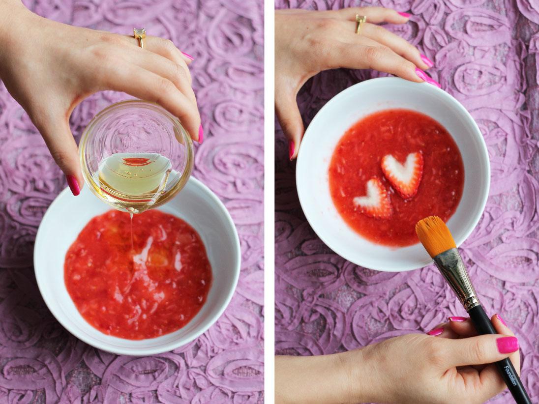strawberries and honey mask ile ilgili görsel sonucu